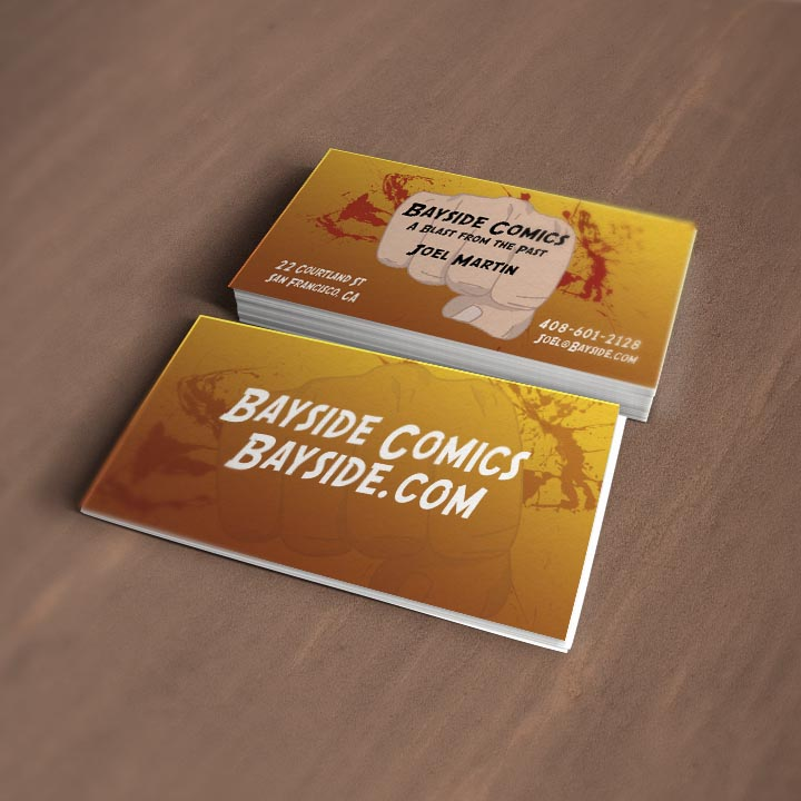 Comic Book Business Cards Gallery - Card Design And Card Template